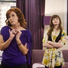 Elisa Donovan e Demi Lovato in una scena dell'episodio Poll'd Apart di Sonny tra le stelle