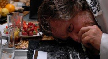 Giovanni Capalbo in un'immagine del film Polvere