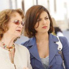 Giuliana Lojodice e Tosca D'Aquino nel mystery televisivo L'isola dei segreti