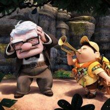 I due irresistibili protagonisti di Up, il film d'animazione targato Pixar
