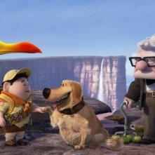 I protagonisti di Up, l'attesissimo film d'animazione targato Pixar