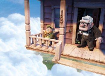 I protagonisti di Up tra le nuvole