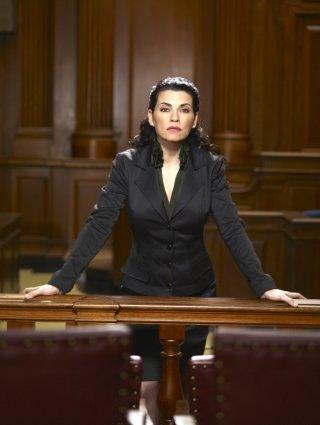 Julianna Margulies in una foto promozionale della serie Canterbury's Law