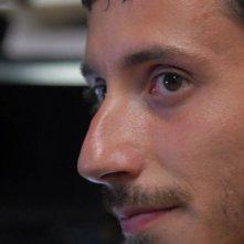 Michele Alhaique in un'immagine del film Polvere