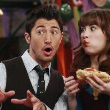 Rich Ceraulo e Demi Lovato nell'episodio Fast Friends di Sonny tra le stelle