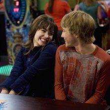Sterling Knight e Demi Lovato in un momento dell'episodio Sonny With a Chance of Dating di Sonny tra le stelle