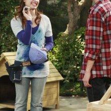 Sterling Knight e Demi Lovato nell'episodio Fast Friends di Sonny tra le stelle