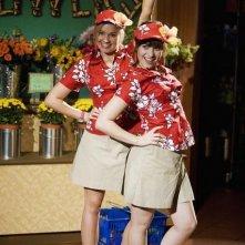 Tiffany Thornton e Demi Lovato nell'episodio Cheater Girls di Sonny tra le stelle