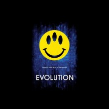 Un wallpaper del film 'Evolution'