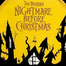 Un wallpaper del film 'Nightmare Before Christmas'