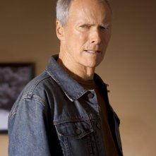 Clint Eastwood è Frankie Dunn in una scena di Million Dollar Baby
