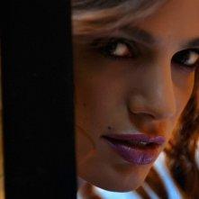 Gaia Bermani Amaral sul set del film Polvere
