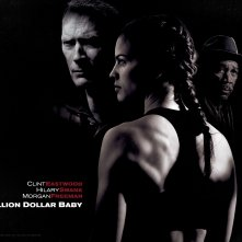 Un wallpaper del film 'Million Dollar Baby'