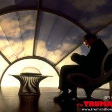 Un wallpaper di Ed Harris che interpreta Christof per il film 'The Truman Show'