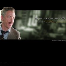 Un wallpaper di J.K. Simmons che interpreta J. Jonah Jameson nel film 'Spider-Man'
