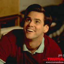 Un wallpaper di Jim Carrey per il 'The Truman Show'