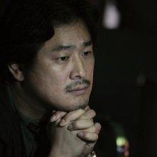 Park Chan-Wook sul set del film Thirst
