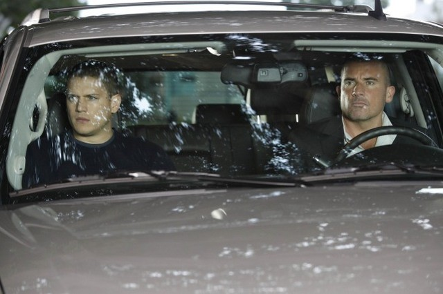 Wentworth Miller E Dominic Purcell In Una Scena Dell Episodio Cowboys And Indians Di Prison Break 116675