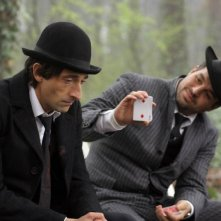 Adrien Brody e Mark Ruffalo in un'immagine del film The Brothers Bloom