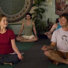 Jennifer Aniston e Steve Zahn in una scena del film Management