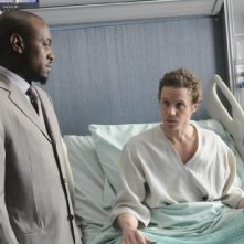 Omar Epps in una scena di Both Sides Now di Dr. House: Medical Division