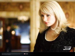 Un wallpaper di Gwen Stacy interpretata da Bryce Dallas Howard nel film 'Spider-Man 3'