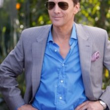Andrew McCarthy in una scena dell'episodio Valley Girls di Gossip Girl