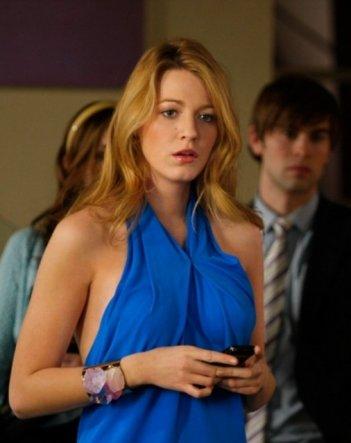Blake Lively in una scena dell'episodio The Goodbye Gossip Girl di Gossip Girl