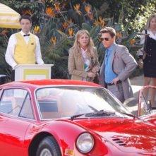Brittany Snow ed Andrew McCarthy nell'episodio Valley Girls di Gossip Girl