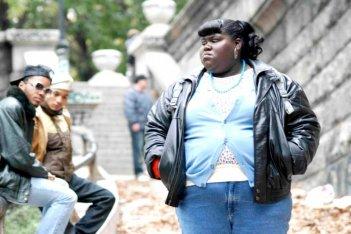 Gabourey 'Gabby' Sidibe in una scena del film Precious