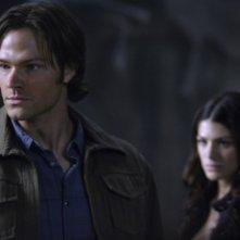 Jared Padalecki in una scena dell'episodio Lucifer Rising di Supernatural