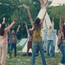 Una scena del film Taking Woodstock, di Ang Lee