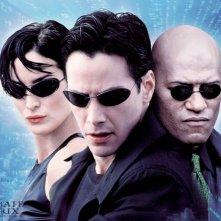 Wallpaper con Trinity, Neo e Morpheus per 'Ultimate Matrix Collection'