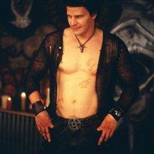 L'attore David Boreanaz interpreta Luc Crash nel film de 'Il corvo 4 - Preghiera maledetta'
