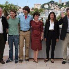 Il cast di Taking Woodstock a Cannes