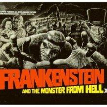 Una lobbycard di La creatura di Frankenstein