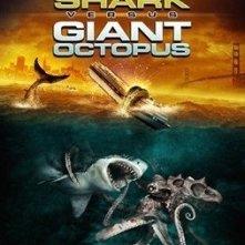 La locandina di Mega Shark vs. Giant Octopus