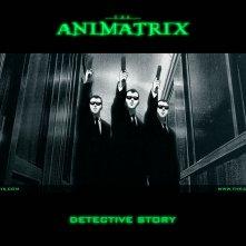 Un wallpaper dell'episodio 'Detective Story' di Animatrix