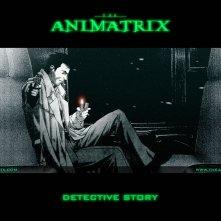Un wallpaper dell'episodio 'Detective Story' in Animatrix