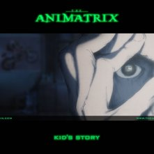 Un wallpaper dell'episodio 'Kid's Story' di Animatrix