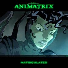 Un wallpaper dell'episodio 'Matriculated' in Animatrix