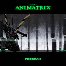 Un wallpaper dell'episodio 'Program' di Animatrix