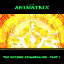 Un wallpaper dell'episodio 'The Second Renaissance, Part 1' di Animatrix