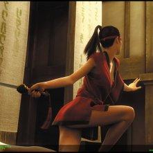 Wallpaper dell'episodio 'Osiris' per la raccolta di cortometraggi Animatrix