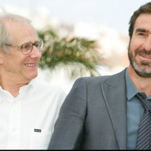 Cannes 2009: Eric Cantona e Ken Loach presentano il film Looking for Eric