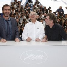 Cannes 2009: Eric Cantona, Steve Evets e Ken Loach presentano il film Looking for Eric