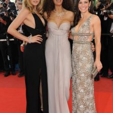 Cannes 2009: la star di Lost, Evangeline Lilly con Afef Jnifen