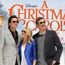 Cannes 2009: Jim Carrey, Robin Wright Penn e Colin Firth alla presentazione di A Christmas Carol