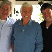Jeff Sherman, Dick Van Dyke e Gregory V. Sherman, registi e produttori del documentario The Boys: The Sherman Brothers' Story