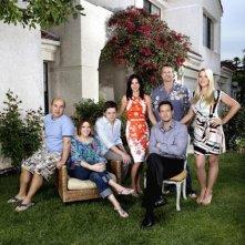 Una immagine promozionale del cast di Cougar Town